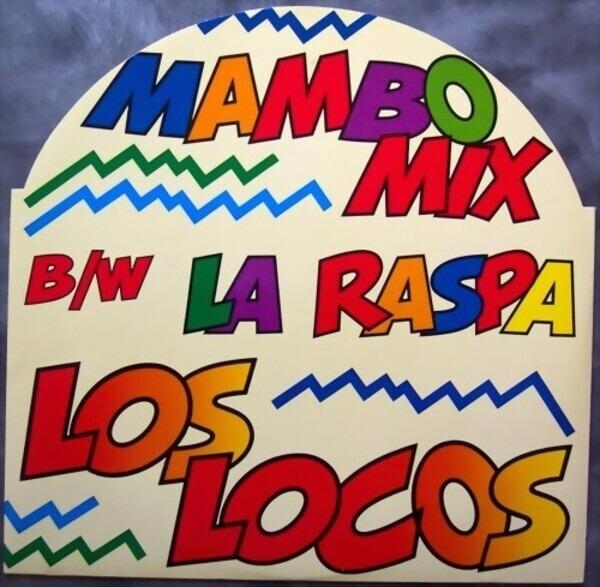 LOS LOCOS - La Raspa - Maxi x 1