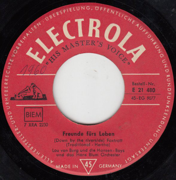 Lou Van Burg vinyl, 56 LP records & CD found on CDandLP