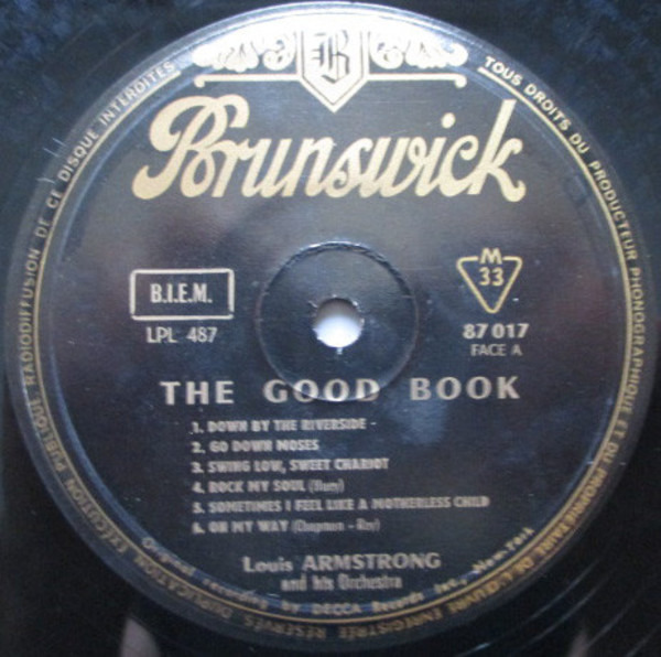 Louis Armstrong Weihnachtslieder.Louis And The Good Book By Louis Armstrong And His All Stars With The Sy Oliv Lp With Recordsale