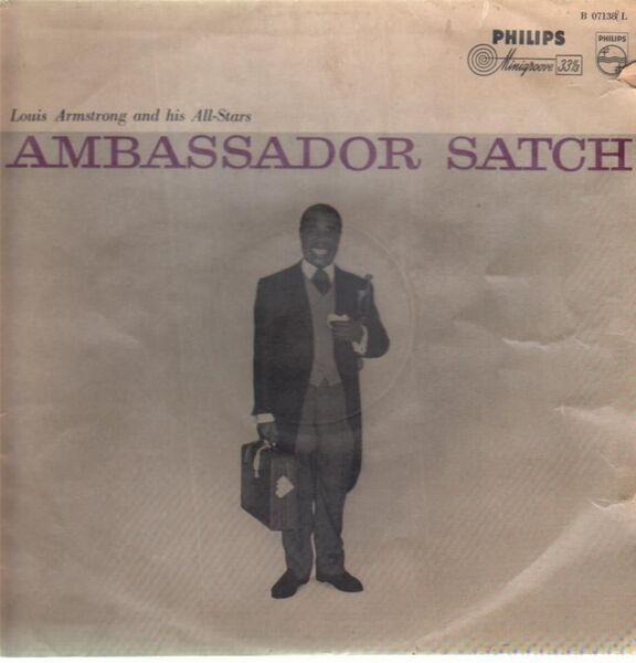 #<Artist:0x00007f5a8c68db00> - Ambassador Satch