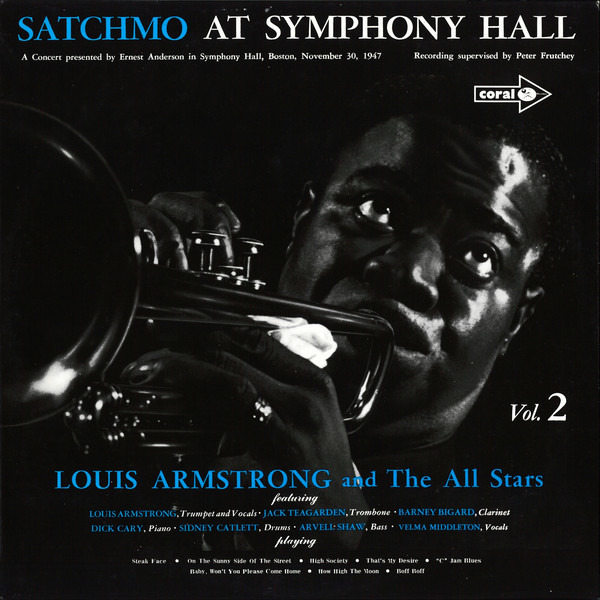 #<Artist:0x000000000793f1a0> - Satchmo At Symphony Hall Vol.2