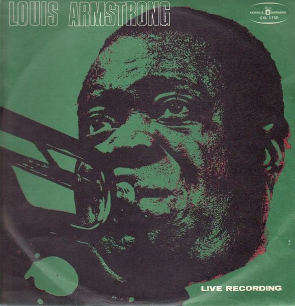 LOUIS ARMSTRONG - Live Recording (MUZA EDITION) - LP