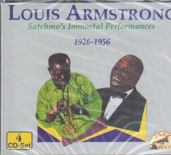 #<Artist:0x00007f30fe68e1e8> - Satchmo's Immortal Performances