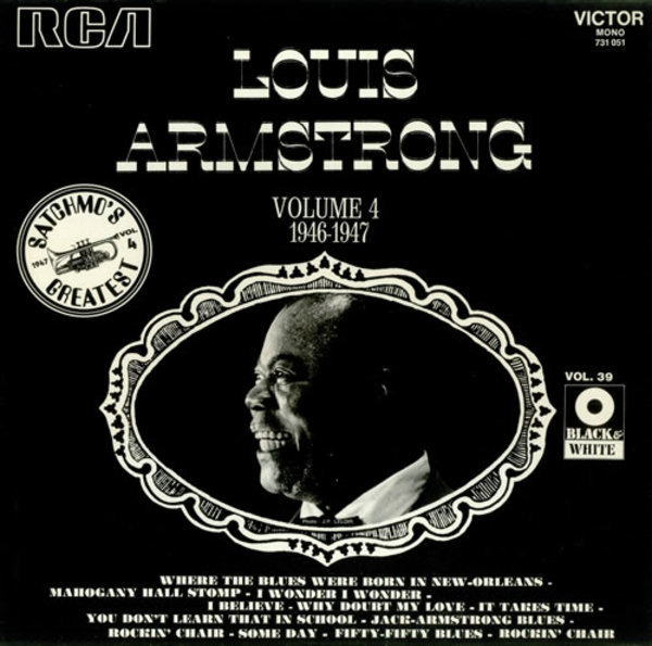 Louis Armstrong Weihnachtslieder.Vol 4 Swing That Music 1936 1938 By Louis Armstrong Lp With
