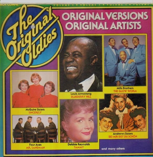 Louis Armstrong Weihnachtslieder.The Original Oldies Volume 1 By Louis Armstrong Debbie Reynolds