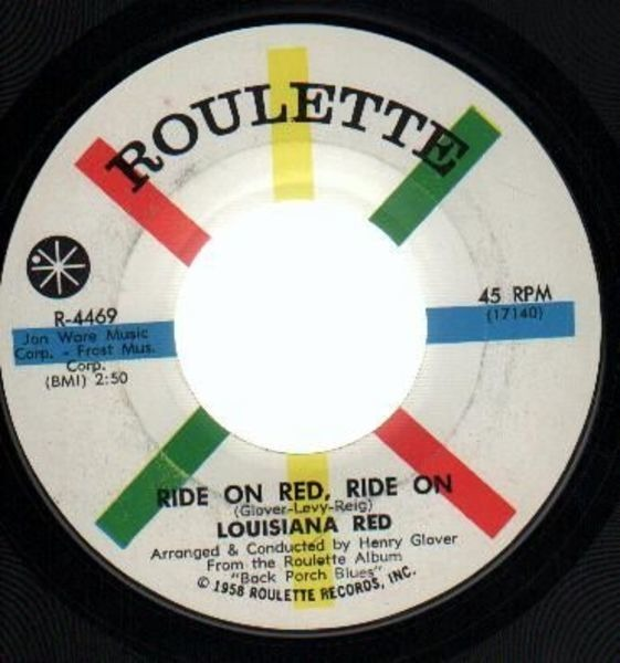 #<Artist:0x00007fce645fc898> - Red's Dream / Ride On Red, Ride On