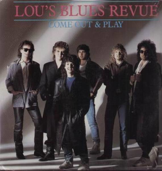 LOU'S BLUES REVUE - Come out and Play - 33T
