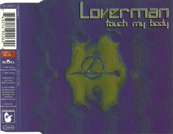 LOVERMAN - Touch My Body - CD single