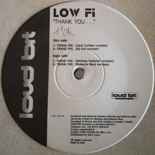 LOW FI - Thank You - Maxi x 1