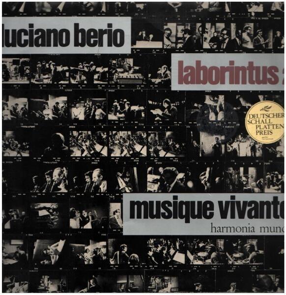 LUCIANO BERIO - Laborintus 2 - 33T