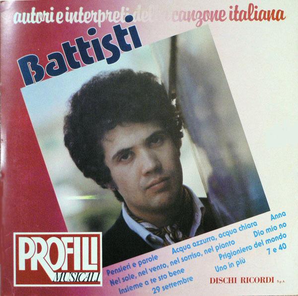 #<Artist:0x0000000008669e48> - Lucio Battisti