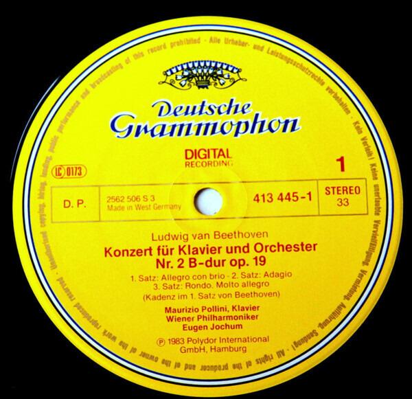 Ludwig van Beethoven - Maurizio Pollini , Wiener P Klavierkonzerte?Piano Concertos Nos. 2 & 4