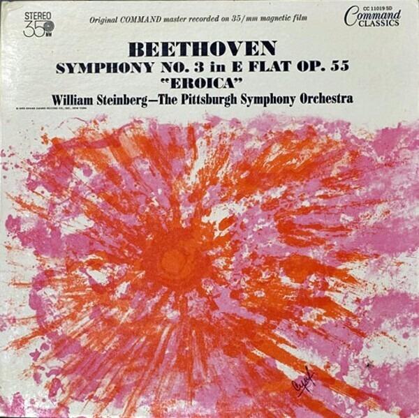 #<Artist:0x007fd6bab77080> - Symphony No. 3 In E Flat Op. 55 'Eroica' (William Steinberg)