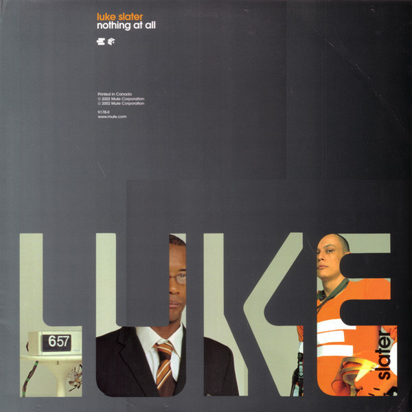 LUKE SLATER - Nothing At All - 12 inch x 1