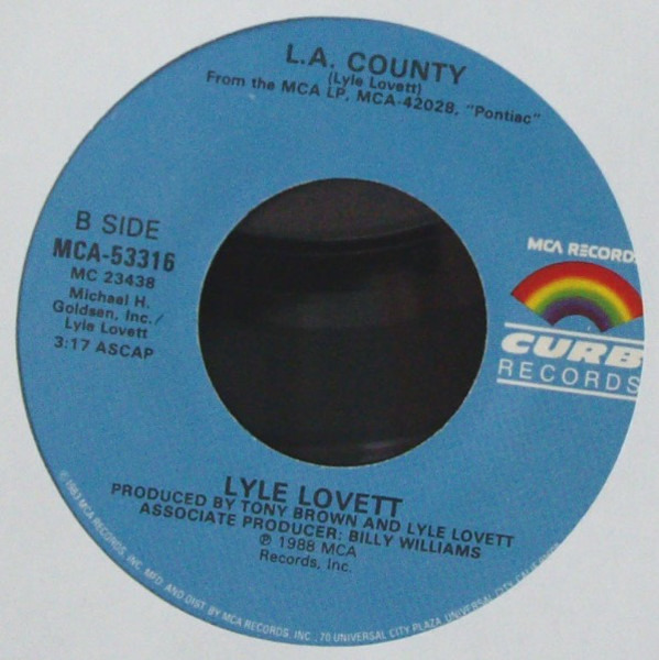#<Artist:0x00007f385b410330> - I Loved You Yesterday / L..A. County