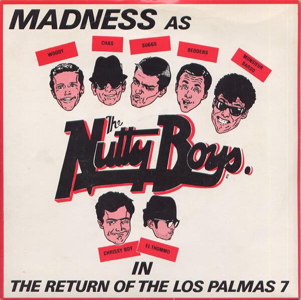 #<Artist:0x007fd60fc04170> - The Return Of The Los Palmas 7