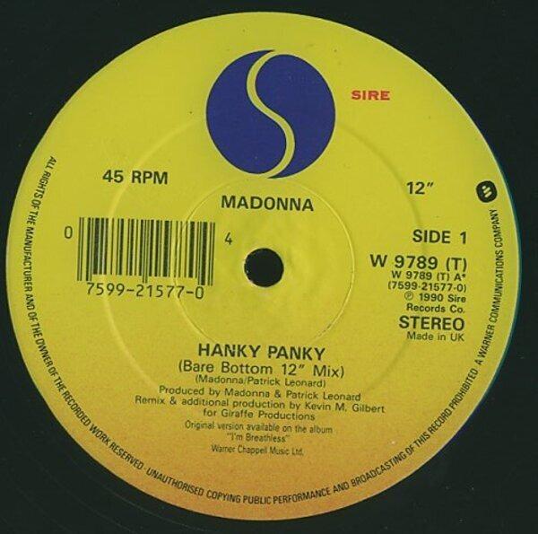 #<Artist:0x00007fd8e34f6488> - Hanky Panky