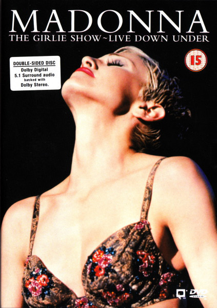 MADONNA - The Girlie Show - Live Down Under - DVD