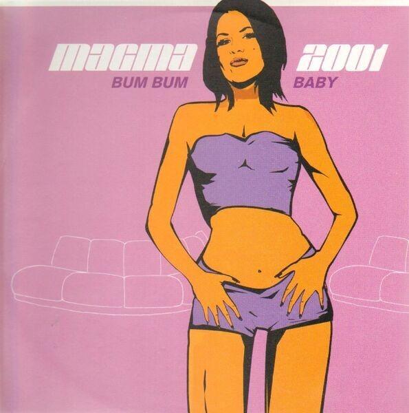 MAGMA - Bum Bum Baby 2001 - 12 inch x 1