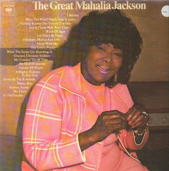 MAHALIA JACKSON - The Great Mahalia Jackson - 33T x 2