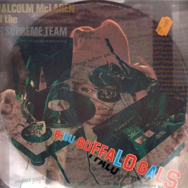 MALCOLM MCLAREN - Buffalo Gals - Special Stereo Scratch Mix - Maxi x 1