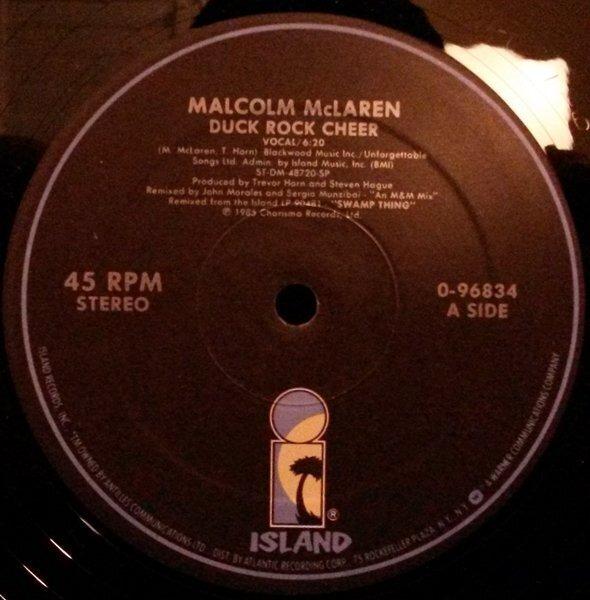 Malcolm McLaren Duck Rock Cheer