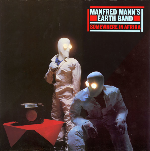 MANFRED MANN'S EARTH BAND - Somewhere In Afrika - LP