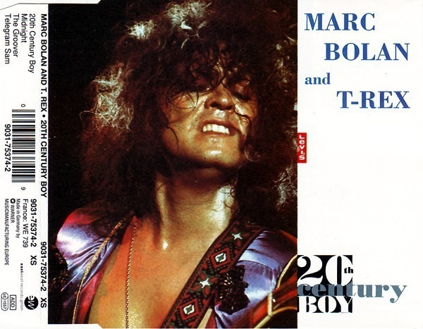 MARC BOLAN AND T. REX - 20th Century Boy - CD single