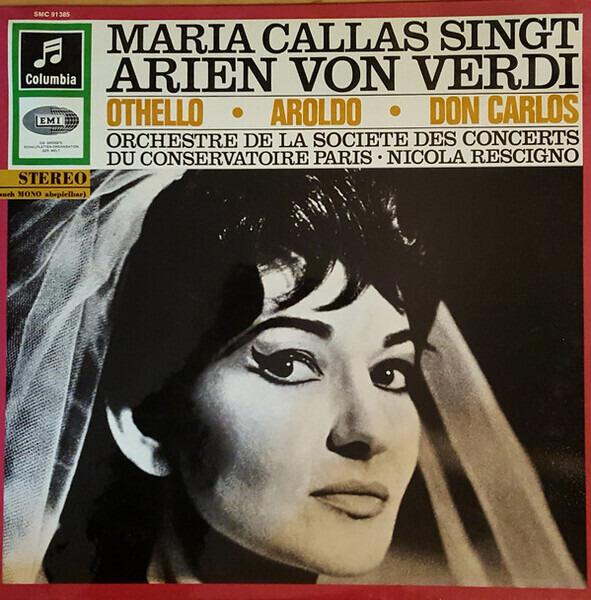 #<Artist:0x00007f4e0d417f50> - Maria Callas Singt Arien Von Verdi
