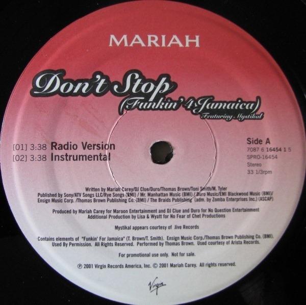 #<Artist:0x007f7869bd3b50> - Don't Stop (Funkin' 4 Jamaica)