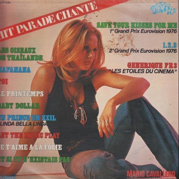 MARIO CAVALLERO ET SON ORCHESTRE - Hit Parade Chante - Pop Hits - Vol. 26 - 33T