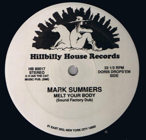 MARK SUMMERS - Melt Your Body - 12 inch x 1