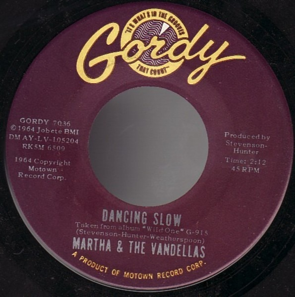 Martha Reeves & The Vandellas Wild One