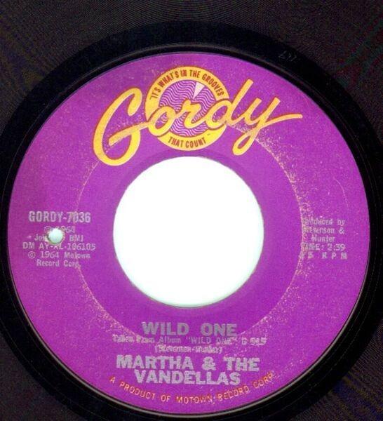 Martha Reeves & The Vandellas Wild One