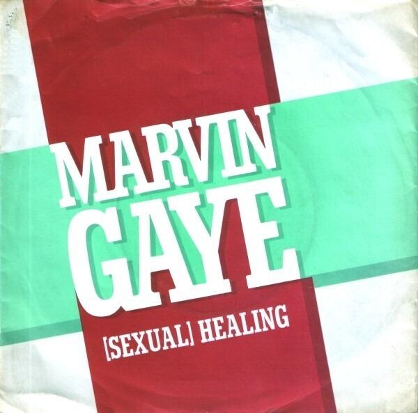 Marvin Gaye (Sexual) Healing (ORANGE INJECTION LABELS)