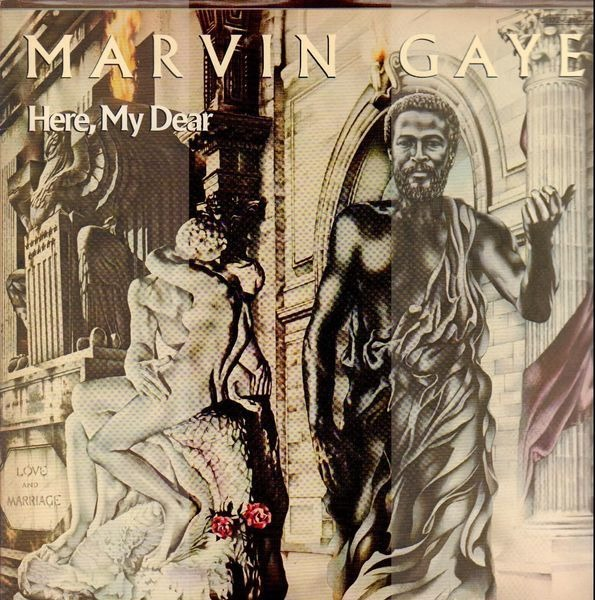 Marvin Gaye Here, My Dear (GATEFOLD)