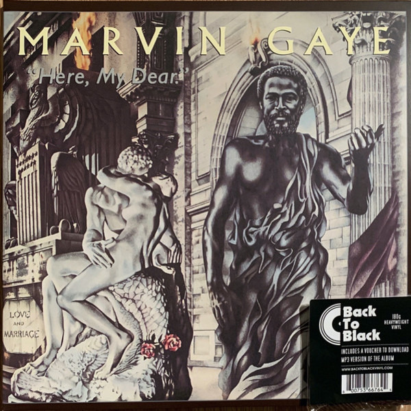 marvin gaye here, my dear (180g +download)