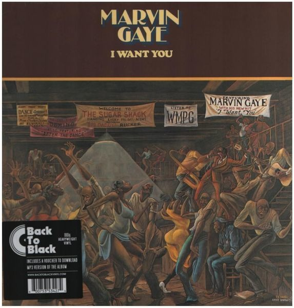 Marvin Gaye I Want You (180 GR  + MP3 DOWNLOAD)
