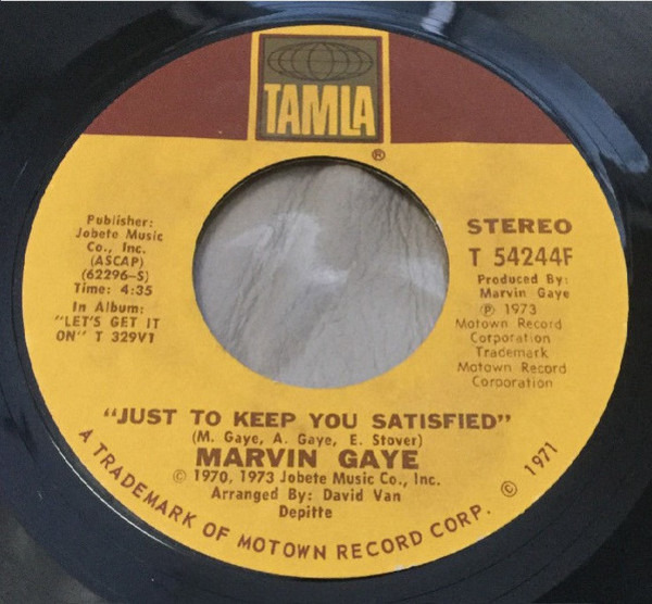 Marvin Gaye You Sure Love To Ball (PITMAN PRESSING)