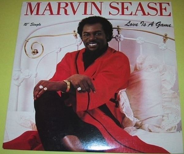 MARVIN SEASE - Love Is A Game - Maxi x 1