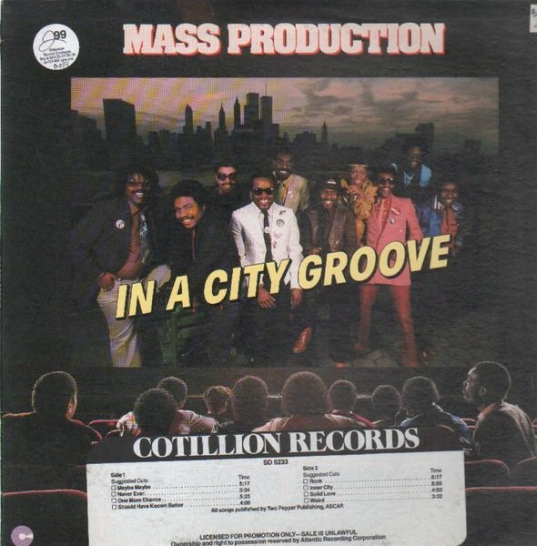 Mass Production In A City Groove (PROMO)