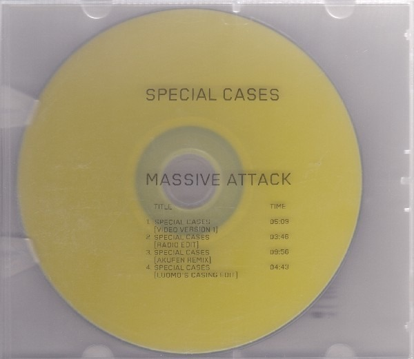 MASSIVE ATTACK - Special Cases - DVD