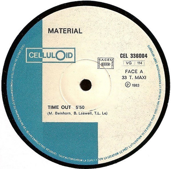 MATERIAL - Time Out - Maxi x 1