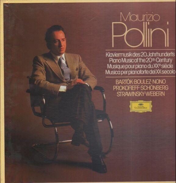 Maurizio Pollini Klaviermusik des 20. Jahrhunderts / Piano Music of the 20th Century (HARDCOVER BOX)
