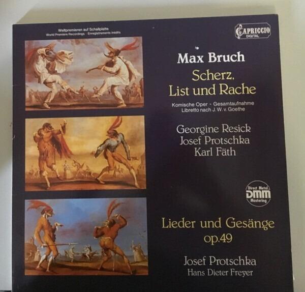#<Artist:0x007f339373d340> - Scherz, List Und Rache/ Lieder Und Gesänge Op.49
