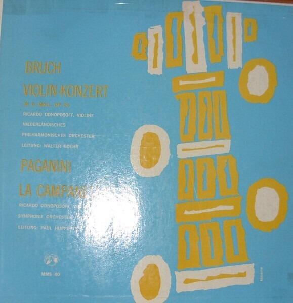 #<Artist:0x007f8448a1f670> - Violinkonzert In G-Moll, Op. 26 - 'La Campanella'