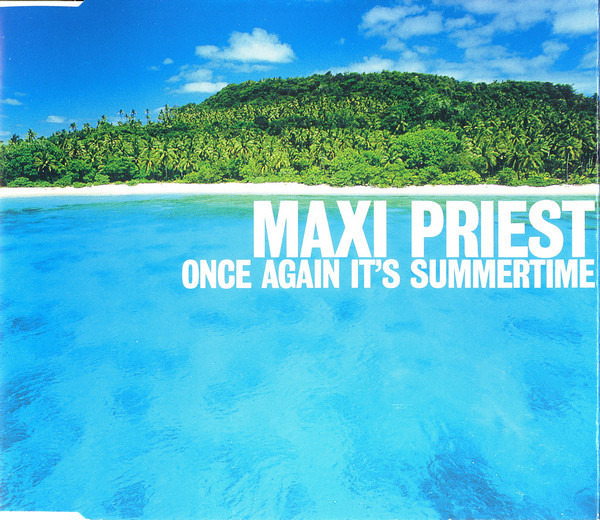 MAXI PRIEST - Once Again It's Summertime - CD Maxi