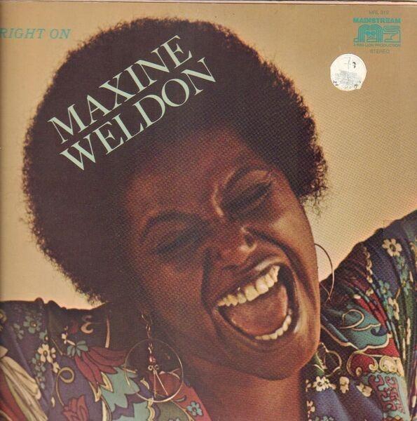 MAXINE WELDON - Right On - LP
