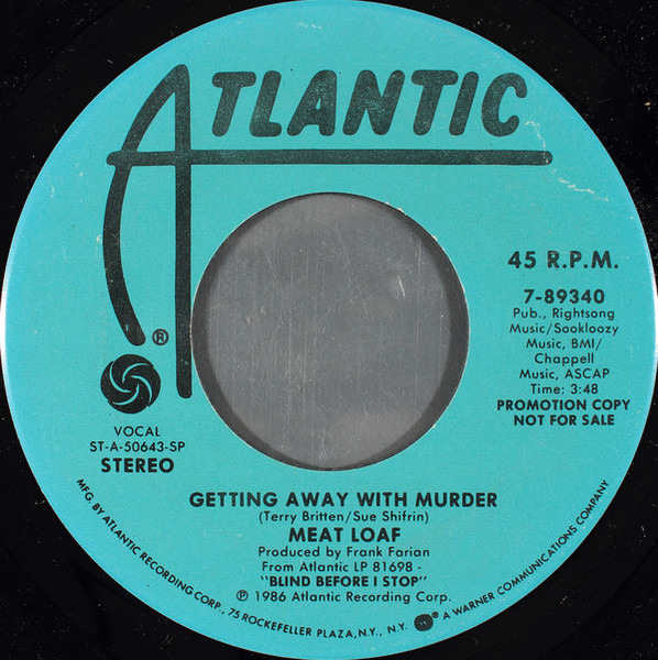 #<Artist:0x007f821e22b288> - Getting Away With Murder