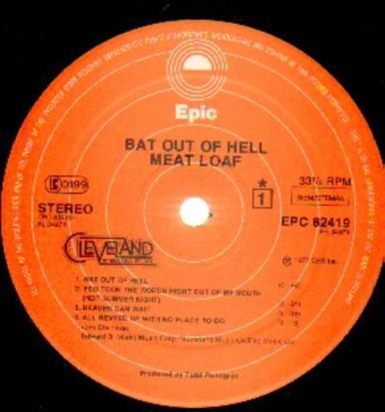 #<Artist:0x00007f5645028508> - Bat Out of Hell